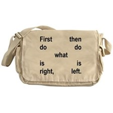 Righ&tLeft Conduct Messenger Bag