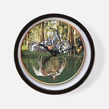 Native Reflections Wall Clock