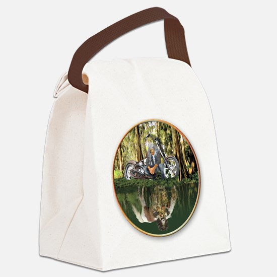 Native Reflections Canvas Lunch Bag