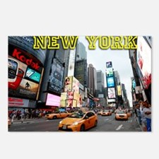 Times Square New York Cit Postcards (Package of 8)