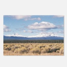 """""""The  Sisters  Of  Oregon Postcards (Package of 8)"""