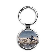 pelican 8x10 Round Keychain
