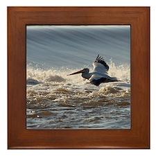 pelican 8x10 Framed Tile