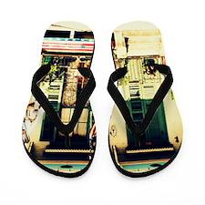 Cajun  Americano Flip Flops