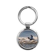 pelican 8x8 Round Keychain