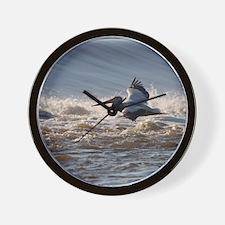 pelican 8x8 Wall Clock