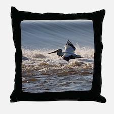 pelican 8x8 Throw Pillow