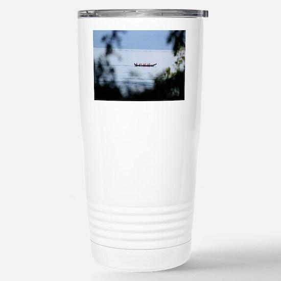 Canoe Stainless Steel Travel Mug