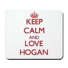 Keep calm and love Hogan Mousepad