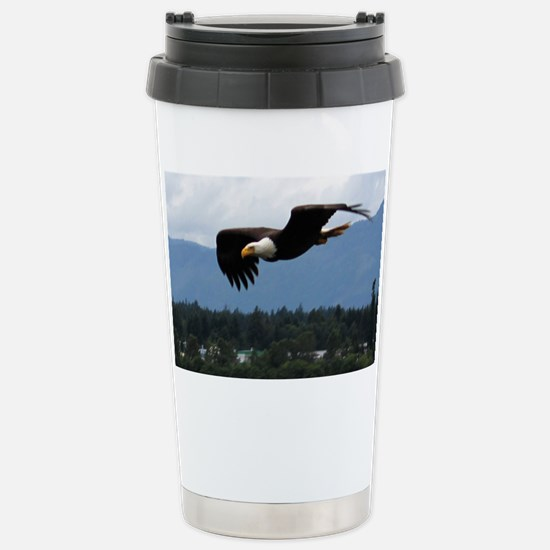 Eagle Flight Stainless Steel Travel Mug