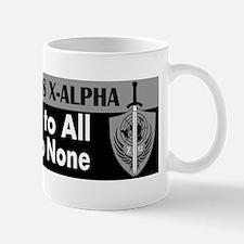 Peacekeepers X-Alpha Logo Mug