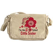 Cutest Little Sister Messenger Bag