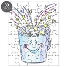 Happy Bucket Puzzle