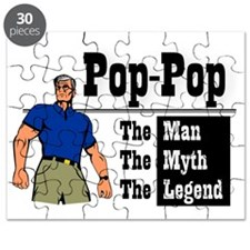 Pop-Pop The Man, The Myth, The Legend Puzzle