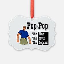 Pop-Pop The Man, The Myth, The Le Ornament