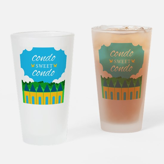 Condo Sweet Condo Drinking Glass