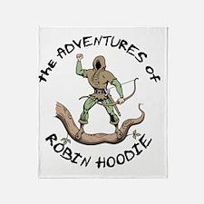 robin-hoodie-LTT Throw Blanket