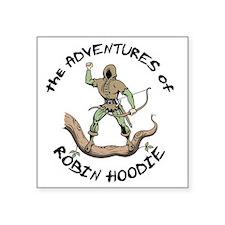 """robin-hoodie-LTT Square Sticker 3"""" x 3"""""""