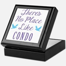 Theres No Place Like Condo Keepsake Box