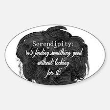 Serendipity Sticker (Oval)