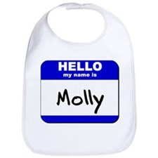 hello my name is molly  Bib