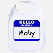 hello my name is molly  Bib
