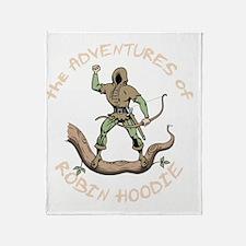 robin-hoodie-DKT Throw Blanket