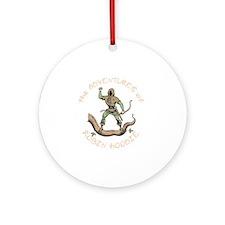 robin-hoodie-DKT Round Ornament