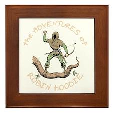robin-hoodie-DKT Framed Tile