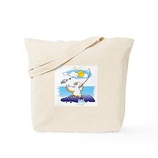 dodo is fishing Tote Bag