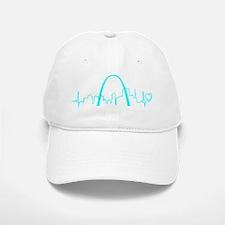 St. Louis Heartbeat (Heart) AQUA Baseball Baseball Cap