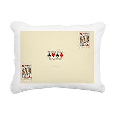 KH placemat Rectangular Canvas Pillow