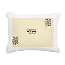QS Divine Rectangular Canvas Pillow