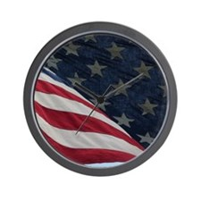 Stars and Stripes Wall Clock