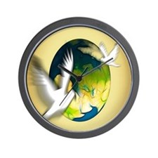 Dove world Wall Clock