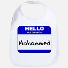 hello my name is mohammed  Bib