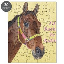 Pretty Thoroughbred Horse Puzzle