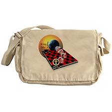 Christian Checkers Messenger Bag