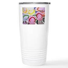illustrated flipflops c Travel Mug