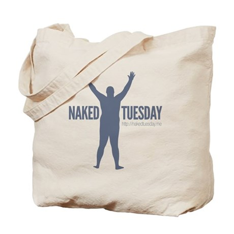 New NakedTuesday.me Tee Design 7 Tote Bag