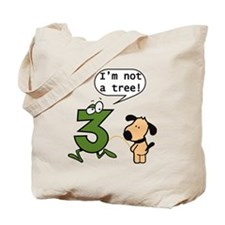 Doggie Pissing a 3 Tote Bag