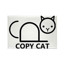 Copy Cat Rectangle Magnet