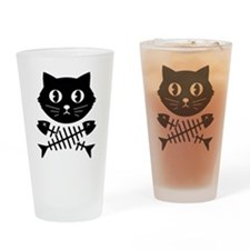 The Pirate Cat Drinking Glass