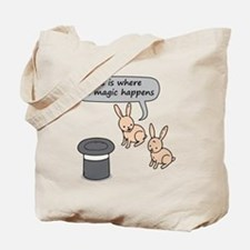 Rabbits and Magic Tote Bag