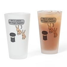 Rabbits and Magic Drinking Glass