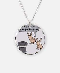 Rabbits and Magic Necklace