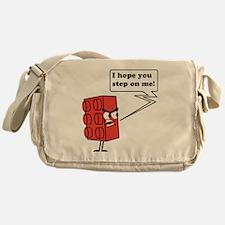 Step on me Messenger Bag
