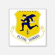 "103rd FW - Flying Yankees Square Sticker 3"" x 3"""