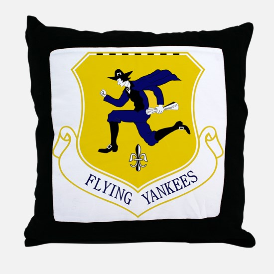 103rd FW - Flying Yankees Throw Pillow
