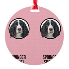 Springer Spaniel Mom Ornament